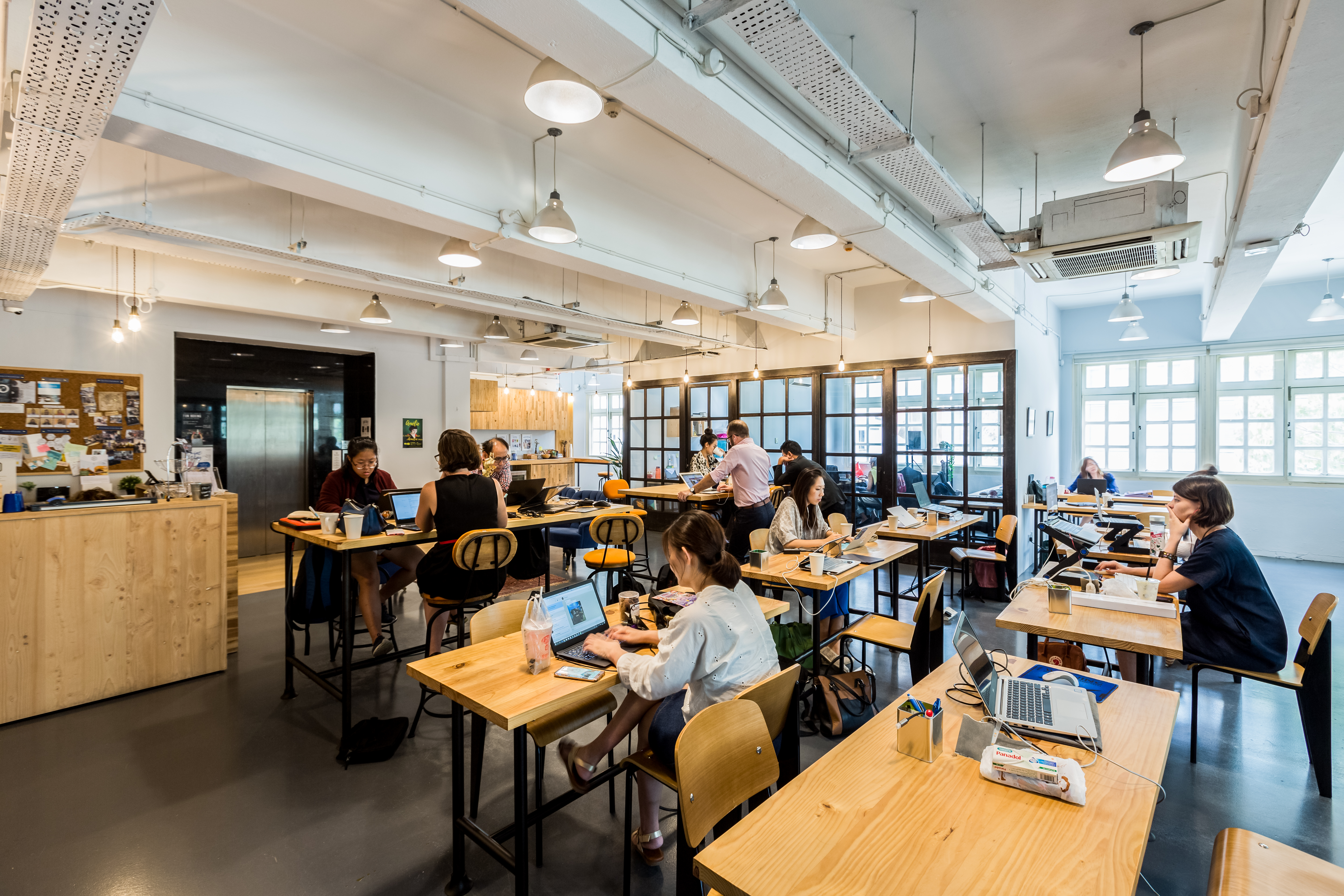 the hive singapore top coworking space