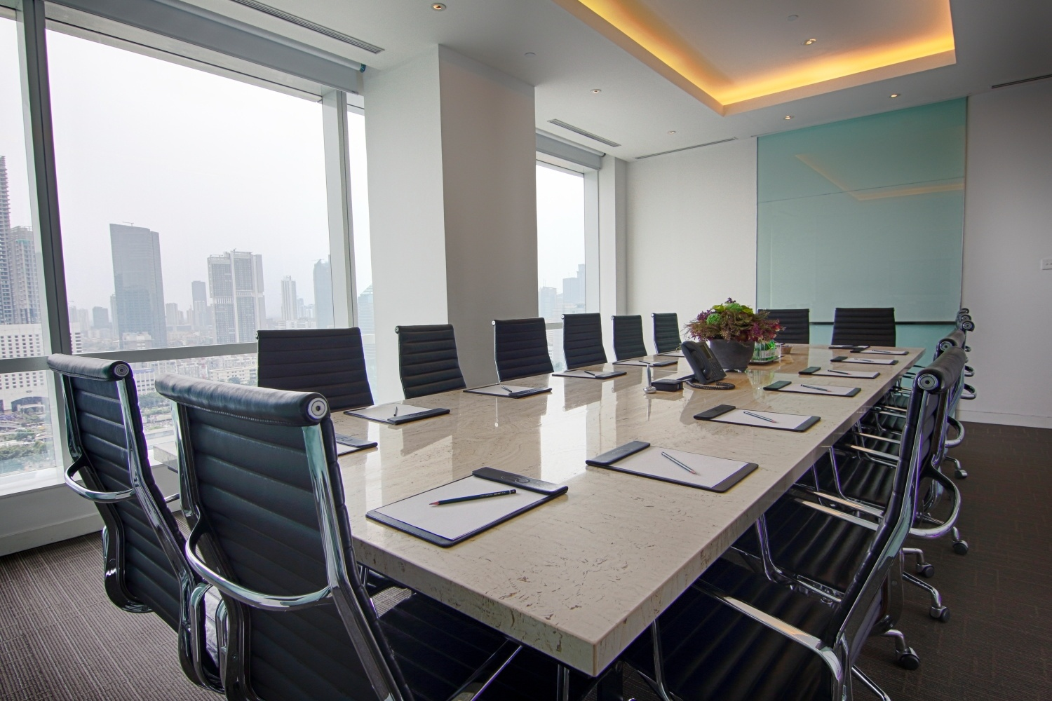 CEO SUITE ONE PACIFIC PLACE MEETING ROOM