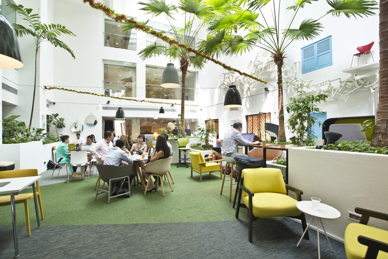 ClubCo flexible workspace singapore