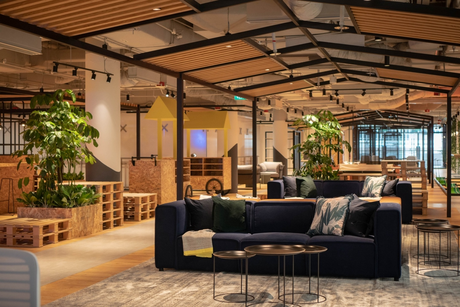 top coworking space in Singapore justco