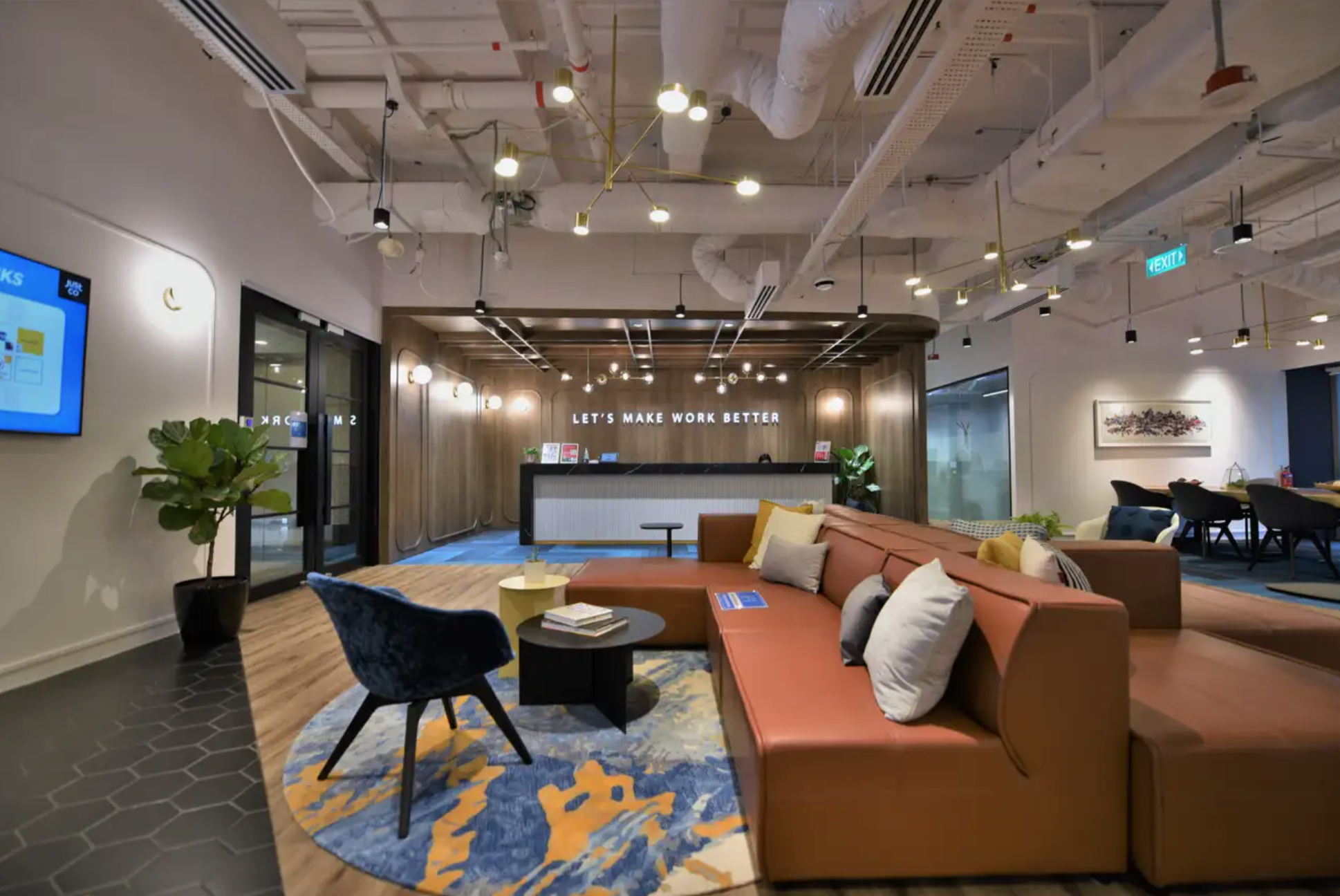 JustCo OCBC Centre Coworking Space Singapore