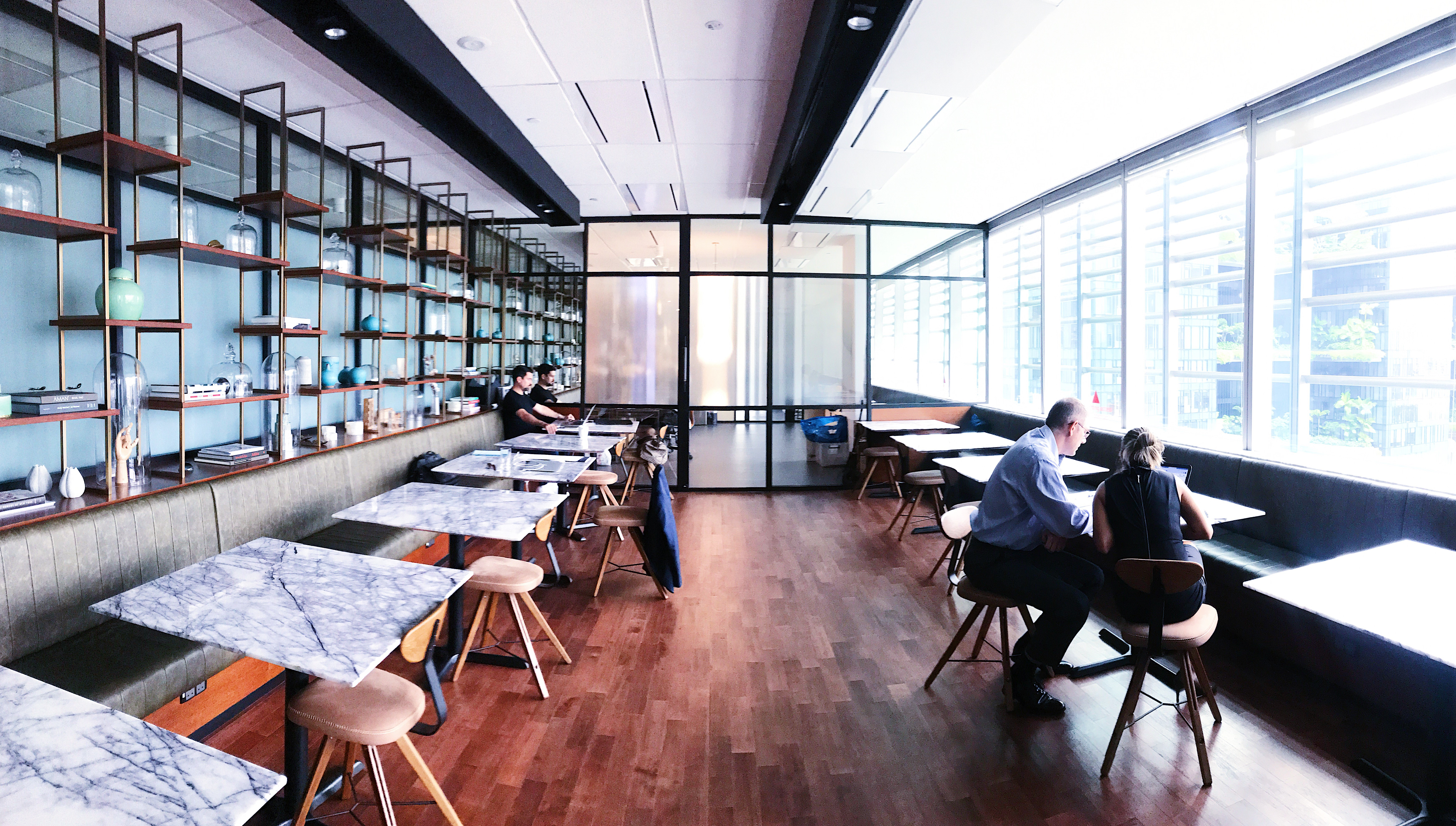 the great room coworking space singapore