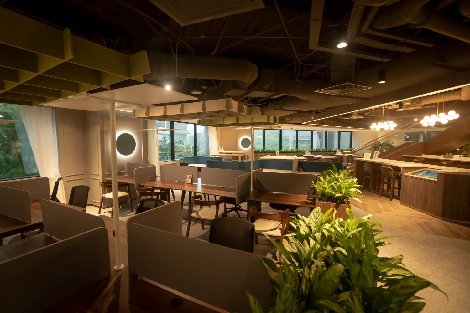 distrii coworking space singapore