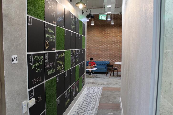 the study by enderun coworking hall manila