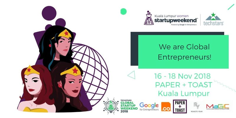 paper+toast kuala lumpur women startup weekend